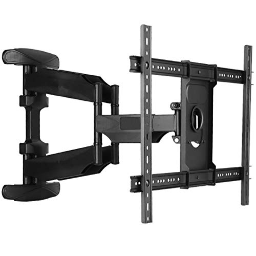 40-70 inch Flat Panel LED LCD TV Wall Mount Full Motion 6 Swing Arms Retractable Plasma TV Mount Bracket (Wall Flat Screen Plate)