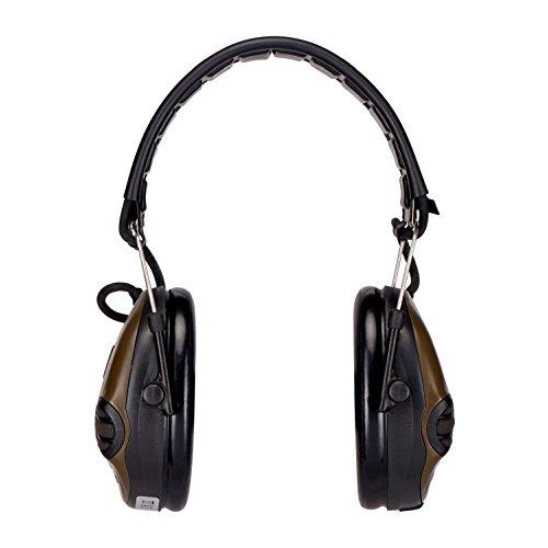3M Peltor SportTac - Casque anti-bruit - Protection auditive pour la chasse contre les bruits de fusil - Atténuation 26… 2