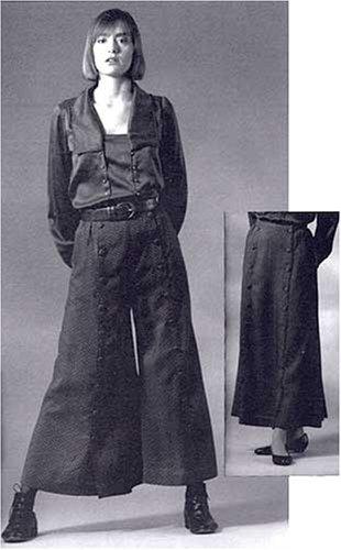 Big Sky Riding Skirt - Patterns - Folkwear #231 Big Sky Riding Skirt