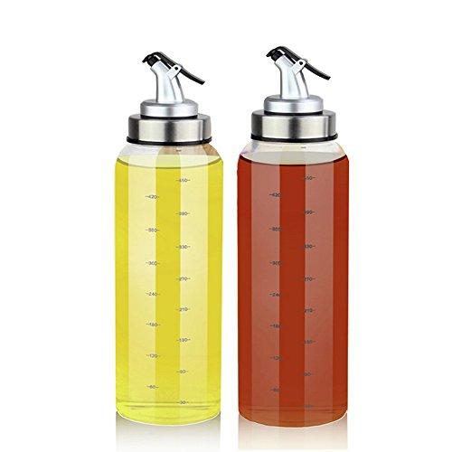 (2 Pack) Olive Oil Dispenser Bottle
