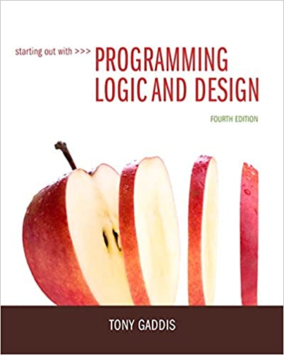 Starting Out With Programming Logic And Design 4th Edition