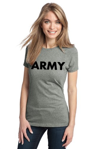 ARMY PT SHIRT Ladies' T-shirt / Physical Training, Military Gym Running Tee Shirt