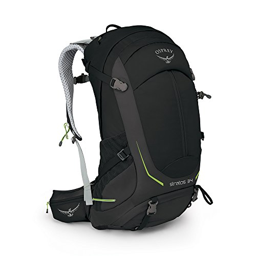 Osprey Packs Stratos 34 Backpack, Black, M/l, Medium/Large