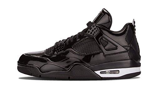 Nike Mens Jordan 11Lab4 Black/White Synthetic Size 11 by NIKE