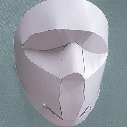 Arte de papel para la producción de máscaras Núcleo de papel libremente tipo de montaje de
