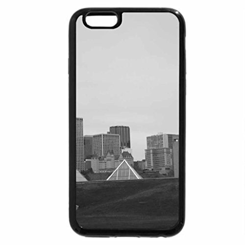 iPhone 6S Plus Case, iPhone 6 Plus Case (Black & White) - A day at the pyramids