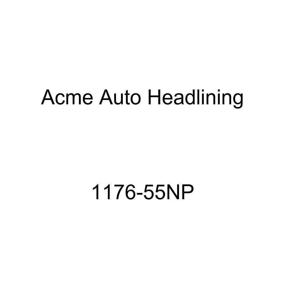 Acme Auto Headlining 1176-55NP Red Replacement Headliner 1957 Buick Super /& Cadillac Series 62 2 Door Hardtop 7 Bows