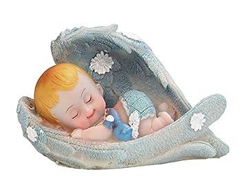 Tortenfigur Blau Taufe Babyparty 1geburtstag Kindergeburtstag Tortendeko