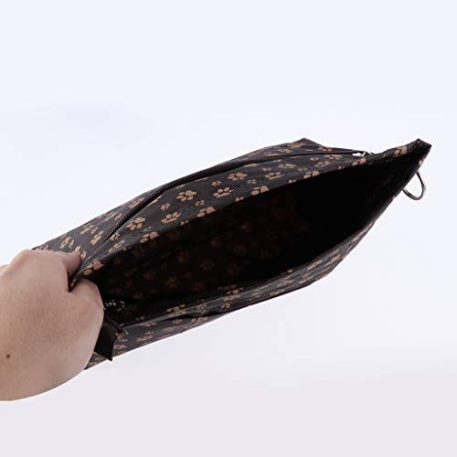 Glissière L'eeau Main Fenteer Fourre Sac Empreinte Bandoulière À Imperméable tout Avec Fermeture qUg8Uvx