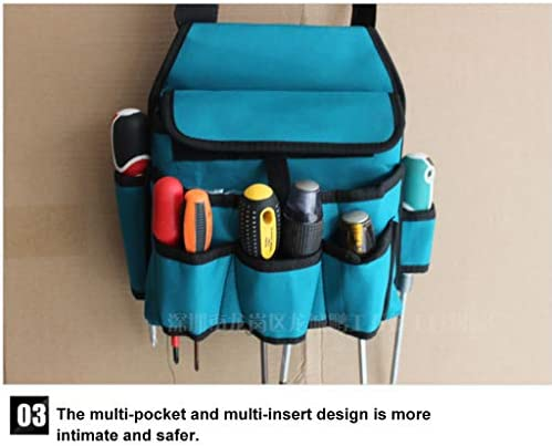 MISLD Portable Tool Bag Multifunctional Bag Set 600D Polyester Fabric Material for Quality Endurance, Bearing A Heavy Load, And Durable