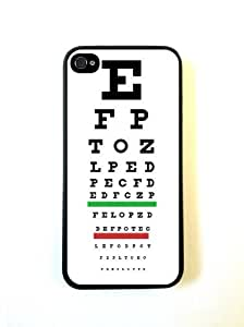 Medical Eye Vision Exam Optometry Chart iphone 4 Cover Iphone 4s Case Fits ip...