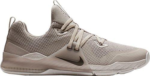 Nike Menns Zoom Kommando Trening Sko Grå / Hvit-m