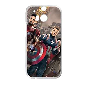 HTC One M8 Cell Phone Case White Captain America O2456037