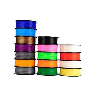 amazon com printer filament 1kg pcl filament 1 75mm