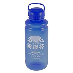 Plastic Portable Handhold Drinking Cup Tea Water Bottle 3000ML Blue