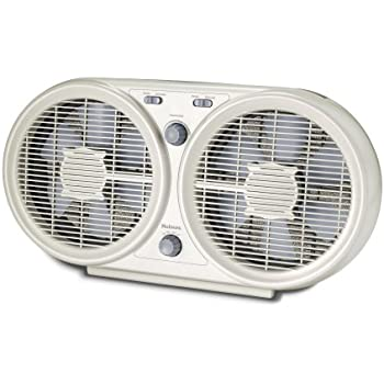 Amazon Com Holmes Twin Window Fan With Washable Filter