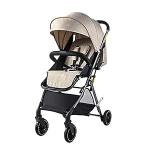 Bébé et Puériculture / Poussettes, landaus et acce Poussette bébé Can Sit and Fold Pliable Ultralight Portable Push main…