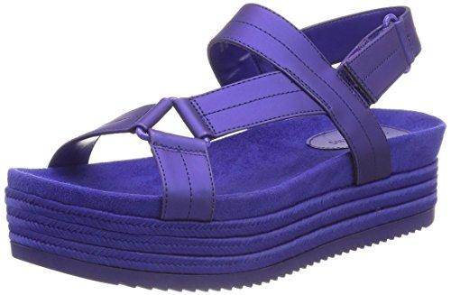 Sandalias para EU Blue Abierta Piresien Spring Clematis Mujer con Call Punta It Azul EqIR8