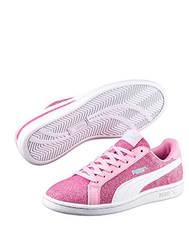 Puma , Jungen Schnürhalbschuhe, rosa - Rosa - Größe: 38½