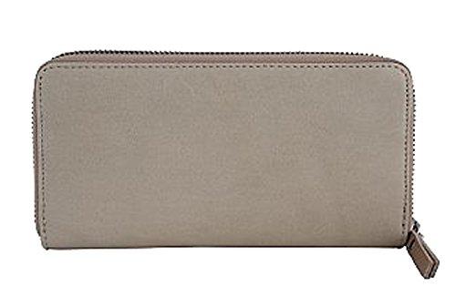 G&G PELLETTERIA - Bolso de asas de Piel para mujer topo