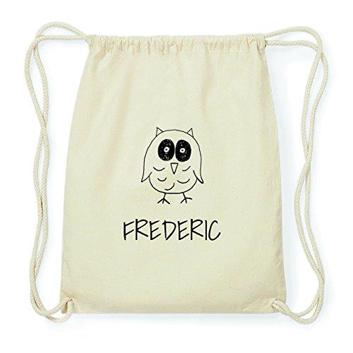JOllipets FREDERIC Hipster Turnbeutel Tasche Rucksack aus Baumwolle Design: Eule