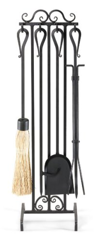 NAPA FORGE Pilgrim Home and Hearth 19014 Country Scroll Fireplace Tool Set (Hearth & Home Country)