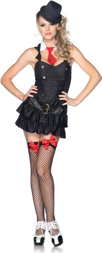 Mafia Princess Adult Costume - Small/Medium - 50s Mafia Costume