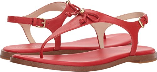 ndra Thong Sandal II Aura Orange Leather 6.5 B US (Aura Leather)