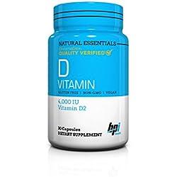 BPI Sports Natural Essentials, D Vitamin, 30 Count