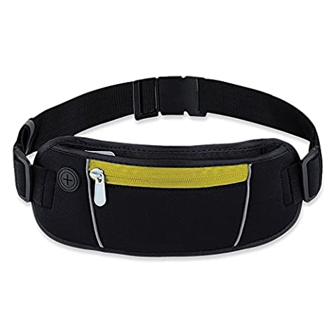 Exsi Waist Pack, Sports & Exercise Running Belt for Women & Men, Lightweight & Durable Bag (One Direction Ipod 4 Case 2014)