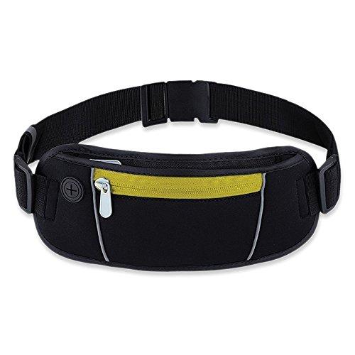 Exsi Waist Pack, Sports & Exercise Running Belt for Women & Men, Lightweight & Durable - Is What Dg Brand