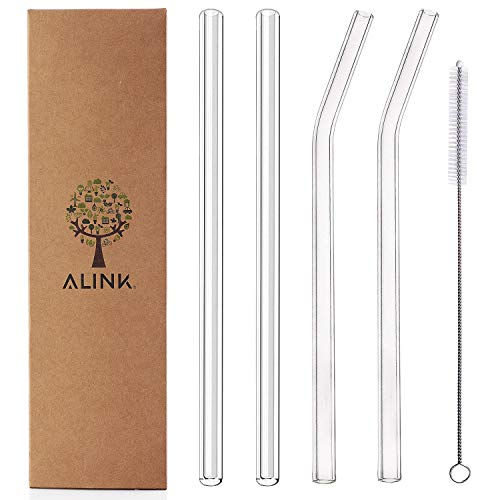 Straws Reusable Straight Smoothie Cleaning product image