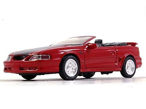 NewRay Ford Mustang GT Fourth Generation Red 1:43 Scale USA Diecast Model Car 1994 Year - Generation 1 Mustang