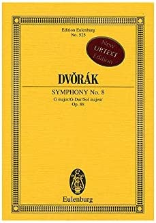 Antonin Dvorak: Symphony No.8 In G Op.88 (Eulenburg Miniature ...