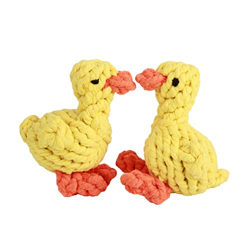 Puppy Dog Pet Rope Toys, LOONG BABY Duck Design Puppy Che...