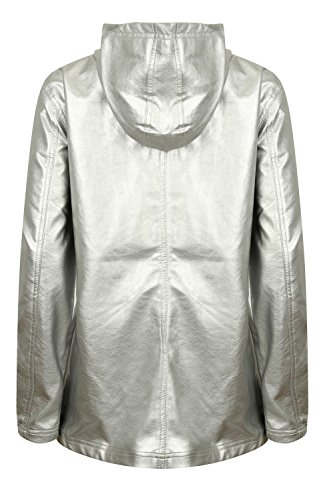 Laundry Tokyo Metallic Manteau Silver Femme dqYvwf