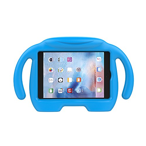 LEDNICEKER Kids Case for iPad Mini 1 2 3 4 5 - Light Weight Shock Proof Handle Stand Kids Friendly for iPad Mini, Mini 5 (2019), Mini 4, Mini 3rd Generation, Mini 2 Tablet - Blue