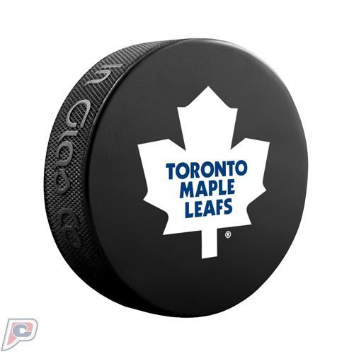 Toronto Maple Leafs Official Basic Collectors NHL Hockey Game Puck by Sher-Wood