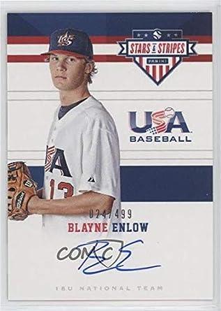 Amazoncom Blayne Enlow 499 Baseball Card 2017 Panini Usa