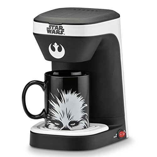 Star Wars 1-Cup Coffee Maker with Chewbacca Mug