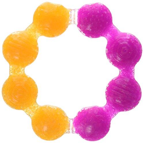 Munchkin Fun Ice Anneau de dentition, les couleurs peuvent varier