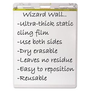 Wizard Wall Dry Erase Static-Cling Film Easel Pads - WZWEP156PK supplier:shoplet