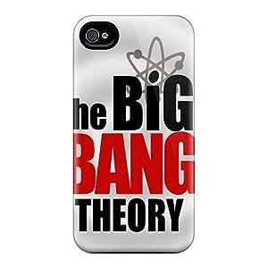 New Tpu Hard Case Premium Iphone 4/4s Skin Case Cover(big Bang Theory)