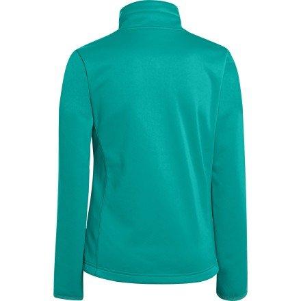 Under Armour Girls' UA ColdGear Infrared Softershell Jacket Gazebo Green / Water Medium by Under Armour