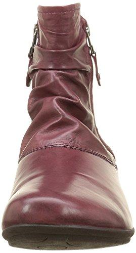 Josef Seibel  Faye 05,  Damen Stiefeletten mit warmem Futter Rot - Rouge (Sangria 421)