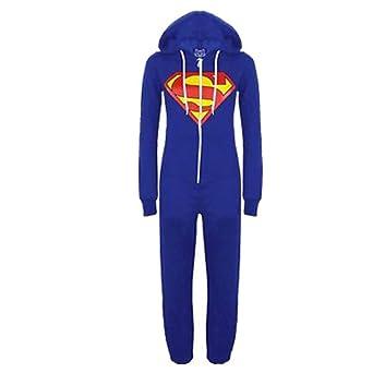 96ab8065 NEW Girls Boys Jumpsuit Kids Onesie All In One BATMAN SUPERMAN ARMY  Playsuit Superhero AGE 7-13 YEARS (11-12, Superman): Amazon.co.uk: Clothing