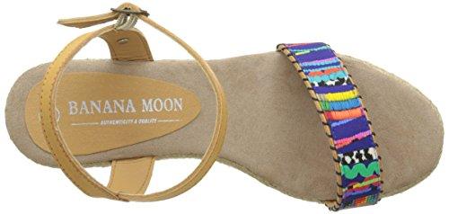 Banana Moon Ascoli 3 - Sandalias de vestir Mujer Multicolor / Beige