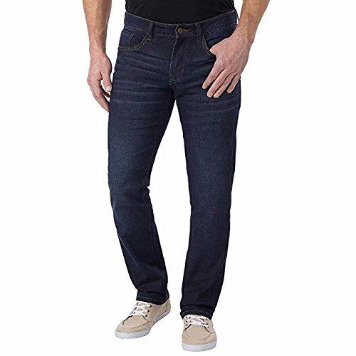 IZOD Men's Comfort Stretch Straight Fit Jean,  )