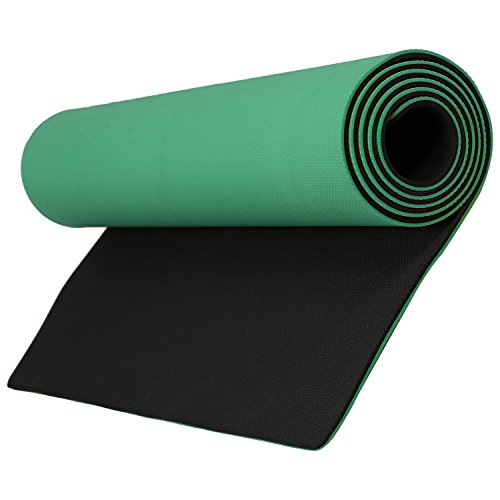 Aerolite Premium Double Sided Yoga Mat-Green L-72