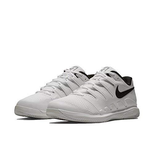 size 40 c5add 76938 Nike Men s Zoom Vapor X HC Wide White Black Vast Grey Summit White